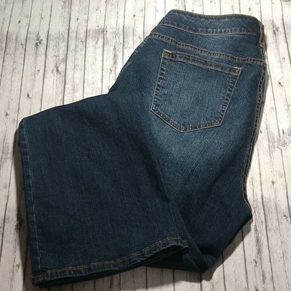 torrid Relaxed Boot Blue Jeans